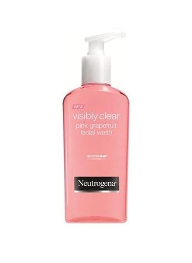 Neutrogena Neutrogena Vısıbly Clear Pembe Greyfurt Yüz Temizleme Jeli Renksiz